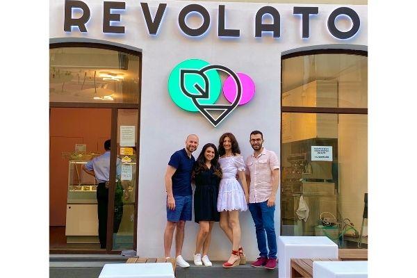 With Dario & Cristina, the founders of Revolato