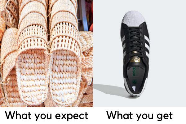 vegan shoes expectation vs reality