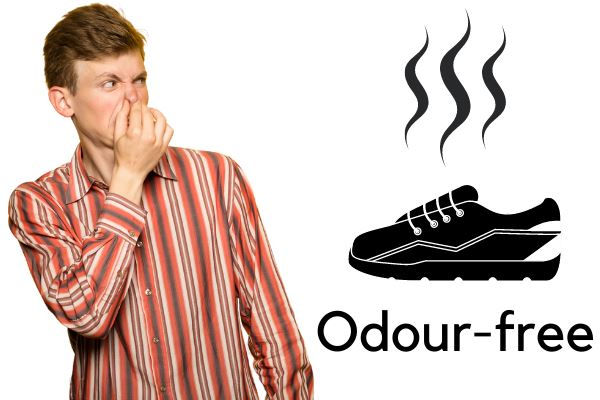 vegan shoes are odour-free