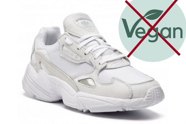 adidas falcon shoes are not vegan