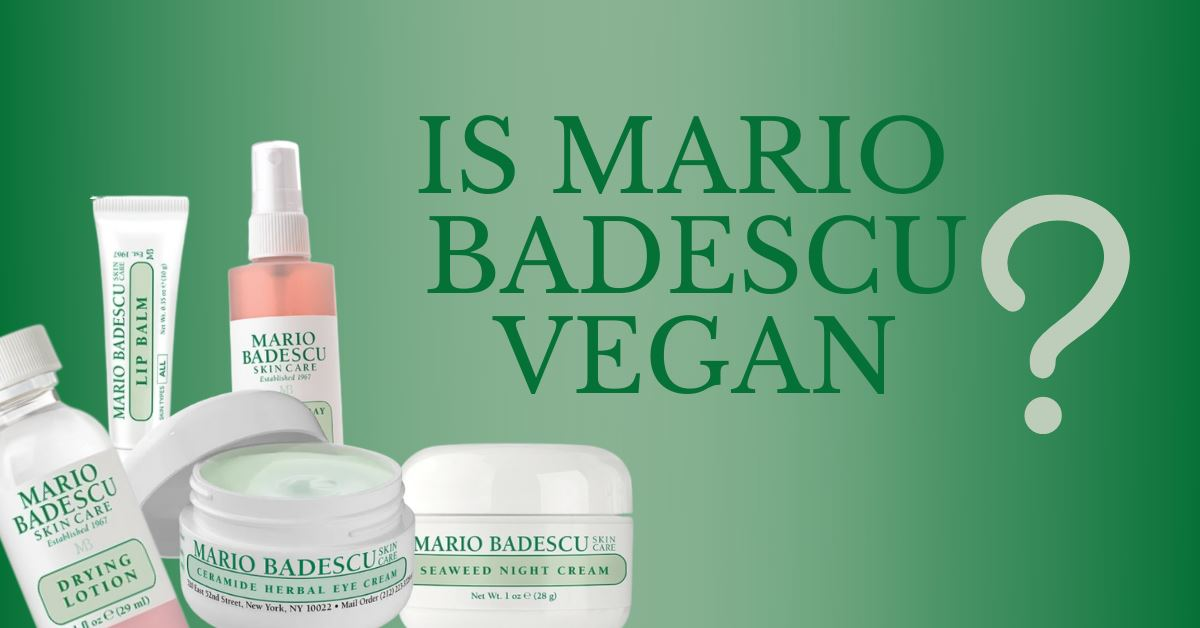 is mario badescu vegan