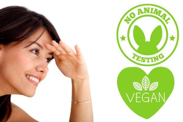 vegan and no animal testing logo