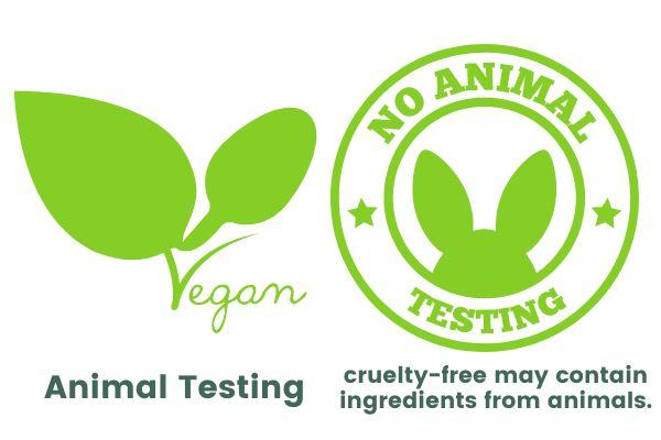 vegan and no animal testing