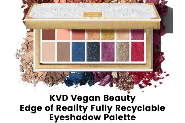 kvd vegan beauty edge of reality fully recyclable eyeshadow palette