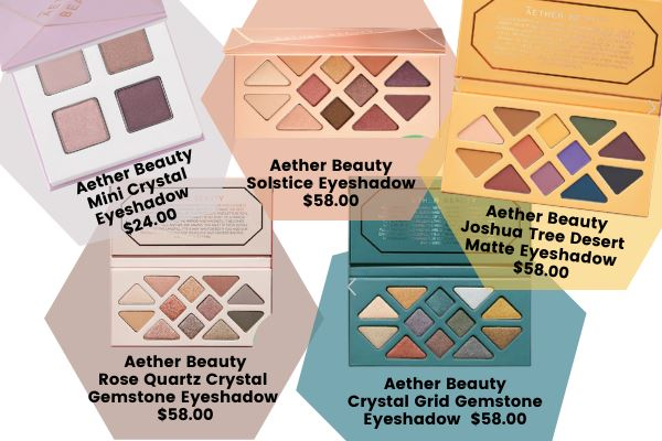 aether beauty vegan eyeshadow palettes