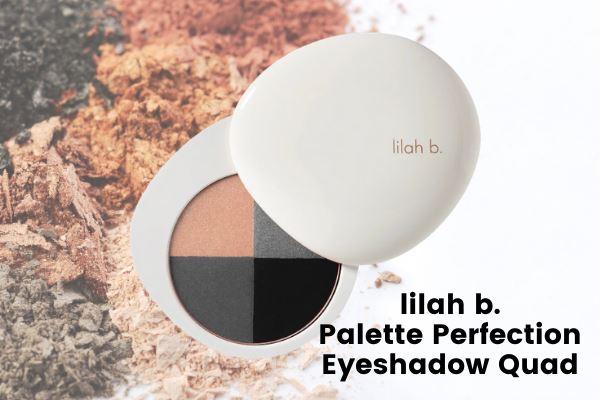lilah b. palette perfection eyeshadow quad
