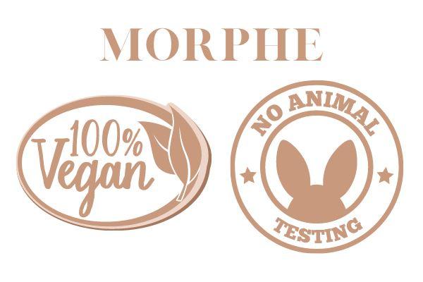 morphe 100% vegan no animal testing