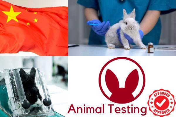 animal testing in china