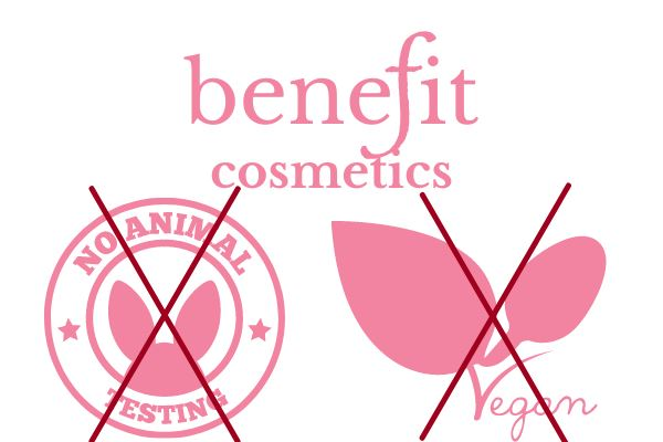 benefit cosmetics allows animal testing