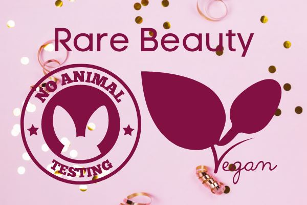 rare beauty is vegan and does not test on animals