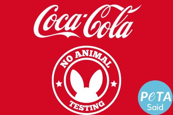 Coca Cola Cruelty Free PETA