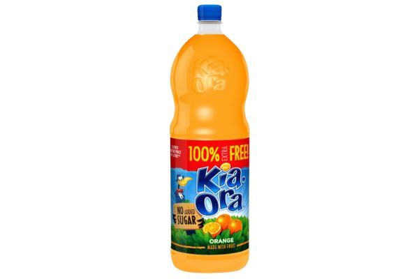 Is Kia-Ora Orange Squash No Added Sugar Vegan?