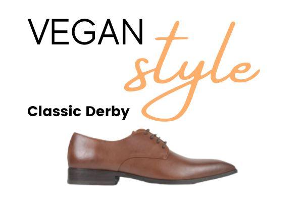 Best Vegan Men's Dress Shoes Classic Derby