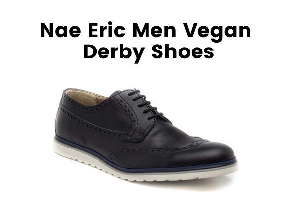 Best Vegan Men's Dress Shoes Nae Eric Men Vegan Derby Shoes