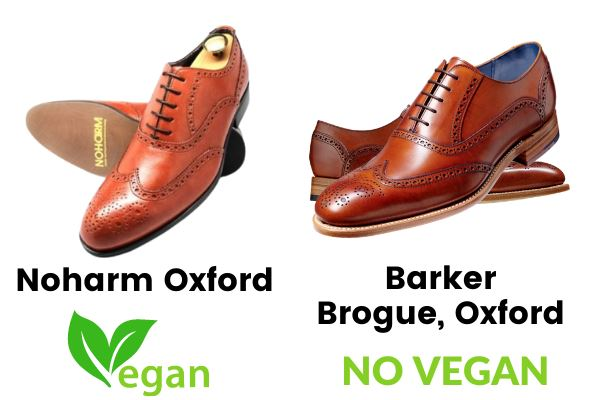 noharm oxford vegan barker brogue, oxford non vegan