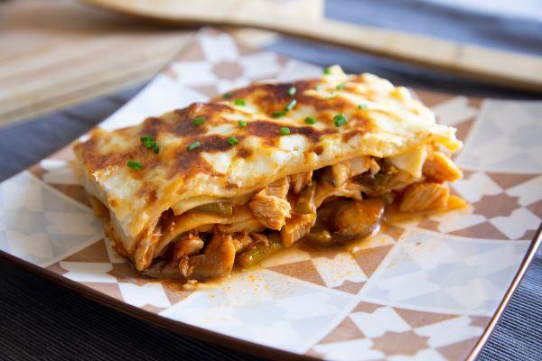 Vegan Spinach and Mushroom Lasagna Recipe