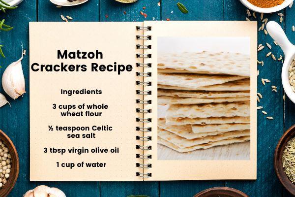 matzah crackers recipe