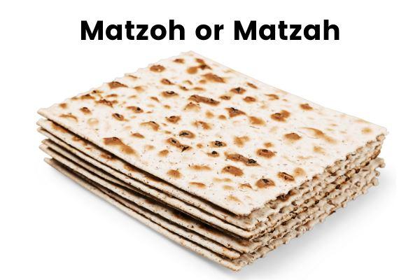 matzoh or matzah