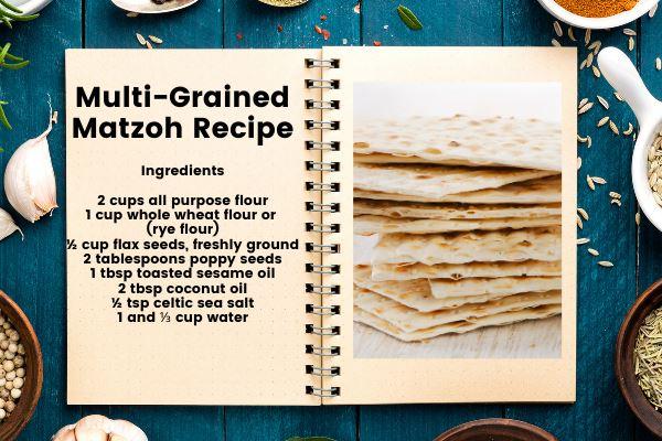 multi-grained matzoh recipe