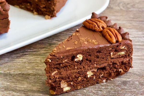 Guilt-free Vegan German Chocolate Cakes